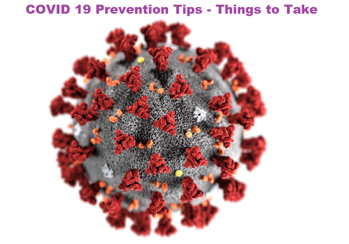 COVID 19 Prevention Tips - Things to Take Care